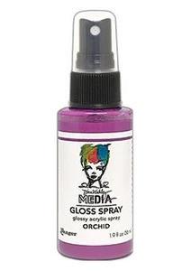 Dina Wakley Media - Gloss Spray, Orchid, 56ml