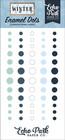 Echo Park - Winter, Enamel Dots, 60 kpl