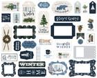 Carta Bella - Welcome Winter Frames & Tags, Leikekuvia, 33 kpl