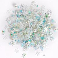 Buttons Galore - Sparkletz Embellishment Pack, 10g, Avalanche