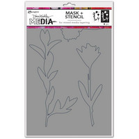 Dina Wakley Media - Growing, Stencils + Masks 6