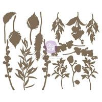 Prima Marketing - Sharon Viv Chipboard Die-Cuts, Orchidea