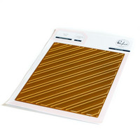 Pinkfresh Studio - Diagonal Stripes, Hot Foil Plate