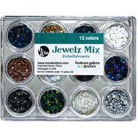 Buttons Galore - Jewelz Mix, 12x3,5g, Neutral