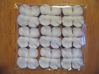 Paperikukka, vaal.sin., 35mm, 100kpl