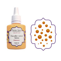 Enamel Dots-aine, Orange, 30ml