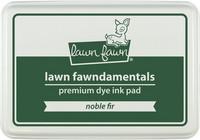 Leimamustetyyny, Lawn Fawn Dye Ink, Noble Fir