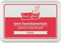 Leimamustetyyny, Lawn Fawn Dye Ink, Lobster
