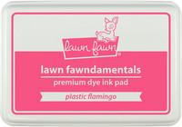Leimamustetyyny, Lawn Fawn Dye Ink, Plastic Flamingo