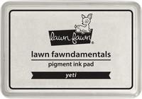 Leimamustetyyny, Lawn Fawn Pigment Ink, Yeti