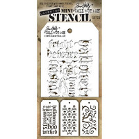 Tim Holtz Mini Layered Stencil, Set #23