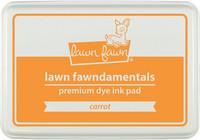 Leimamustetyyny, Lawn Fawn Dye Ink, Carrot