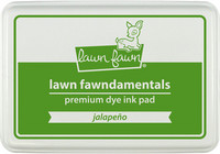 Leimamustetyyny, Lawn Fawn Dye Ink, Jalapeño