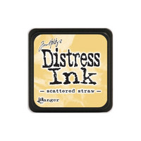 Leimamustetyyny, Distress Mini Ink, Scattered Straw