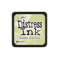 Leimamustetyyny, Distress Mini Ink, Shabby Shutters