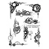 Leimasetti, A5, Steampunk Element French Style