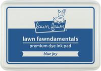 Leimamustetyyny, Lawn Fawn Dye Ink, Blue Jay