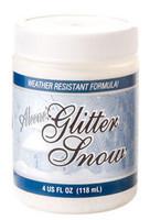 Aleene's Glitter Snow, valkoinen/kimalle, 118ml