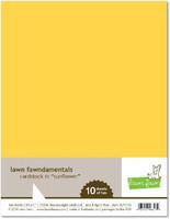 Paperikko, 8,5'x11', Lawn Fawn Sunflower, 10arkkia