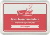 Leimamustetyyny, Lawn Fawn Dye Ink, Chili Pepper