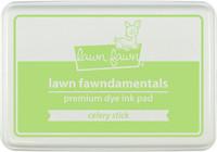 Leimamustetyyny, Lawn Fawn Dye Ink, Celery Stick