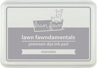 Leimamustetyyny, Lawn Fawn Dye Ink, Manatee