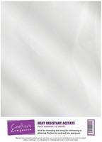 Asetaattikalvo, kirkas, kuumankestävä, A4, 12kpl