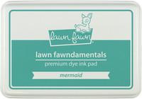 Leimamustetyyny, Lawn Fawn Dye Ink, Mermaid