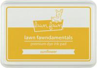 Leimamustetyyny, Lawn Fawn Dye Ink, Sunflower