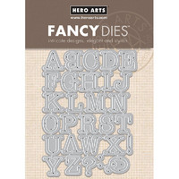 Stanssisetti, Hero Arts Alphabet Uppercase