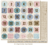 Maja Design - Vintage Frost Basics - Days of December
