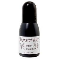 Täyttöpullo, VersaFine, Onyx black, 15ml