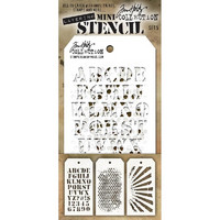 Tim Holtz Mini Layered Stencil, Set #5