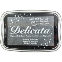 Delicata Pigment Ink, Silvery Shimmer