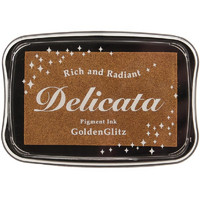 Delicata Pigment Ink, Golden Glitz
