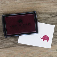 Mama Elephant Creative Color Pigment Ink-leimamuste, Plumberry