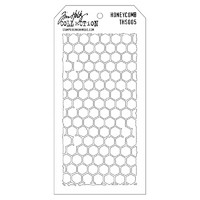 Tim Holtz Layered Stencil, Honeycomb