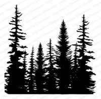 Cover-a-Card-leima, Pine Trees