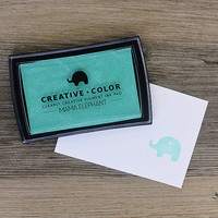 Mama Elephant Creative Color Pigment Ink-leimamuste, Fresh Mint