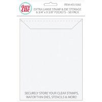 Avery Elle Stamp & Die Storage-taskut, Extra Large, 50kpl