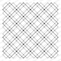 Cover-a-Card-leima, Dotted Argyle