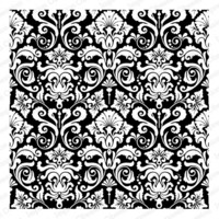 Cover-a-Card-leima, Reverse Damask