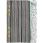 My Prima Planner Zippered Pen & Pencil Bag, Cute Stripes