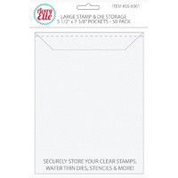 Avery Elle Stamp & Die Storage-taskut, Large, 50kpl
