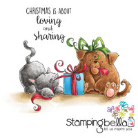 Leimasetti, Stamping Bella, Christmas Tug Of War