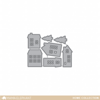 Stanssi, Mama Elephant Creative Cuts, Home Collection