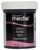 Media Gesso, musta, 118ml