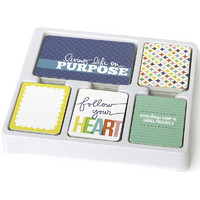 Project Life Core Kit, Crystal Wilkerson - Aqua, 616osaa