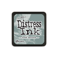 Leimamustetyyny, Distress Mini Ink, Iced Spruce
