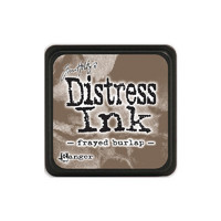 Leimamustetyyny, Distress Mini Ink, Frayed Burlap
